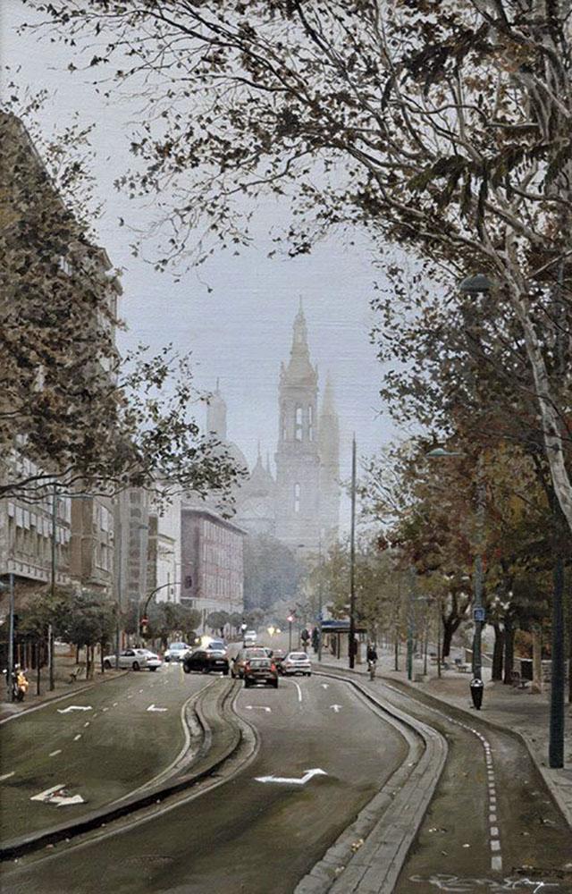Niebla en Zaragoza