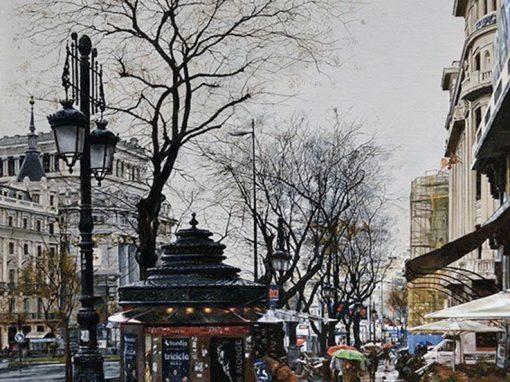 Quiosco en Alcalá
